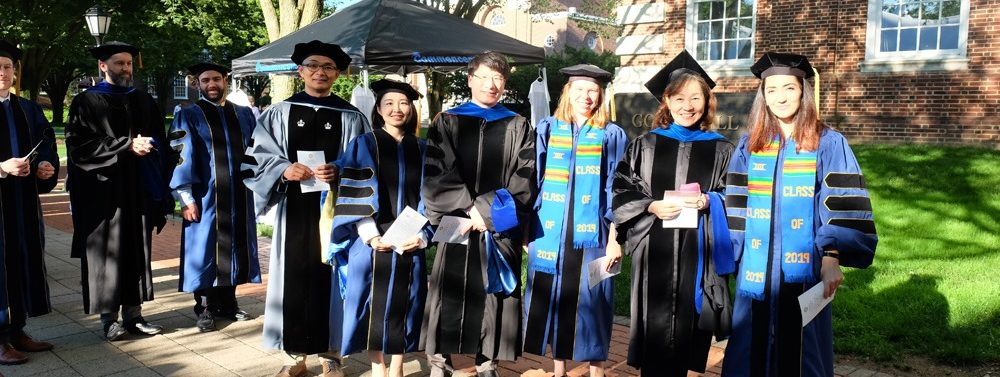 2019 Ph.D. in Bioinformatics and Systems Biology Graduates